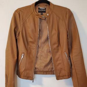 EXPRESS faux leather moto jacket